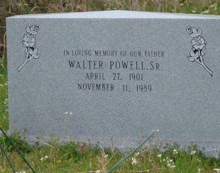 POWELL, WALTER, SR - Caldwell County, Louisiana | WALTER, SR POWELL - Louisiana Gravestone Photos