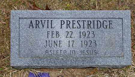 PRESTRIDGE, ARVIL - Caldwell County, Louisiana   ARVIL PRESTRIDGE - Louisiana Gravestone Photos