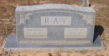 RAY, AGGIE M - Caldwell County, Louisiana | AGGIE M RAY - Louisiana Gravestone Photos