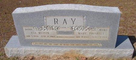 RAY, ASA MELVIN - Caldwell County, Louisiana | ASA MELVIN RAY - Louisiana Gravestone Photos