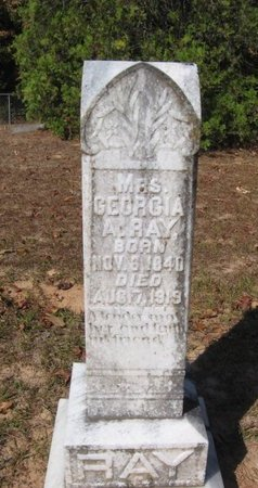 RAY, GEORGIA ANN MINERVA,MRS - Caldwell County, Louisiana   GEORGIA ANN MINERVA,MRS RAY - Louisiana Gravestone Photos