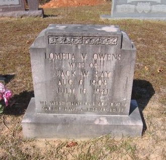 RAY, LOMETA V - Caldwell County, Louisiana   LOMETA V RAY - Louisiana Gravestone Photos