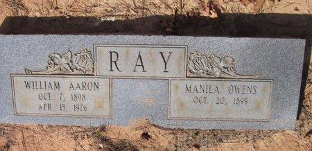OWENS RAY, MANILA - Caldwell County, Louisiana | MANILA OWENS RAY - Louisiana Gravestone Photos