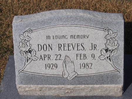 REEVES, DON, JR. - Caldwell County, Louisiana | DON, JR. REEVES - Louisiana Gravestone Photos