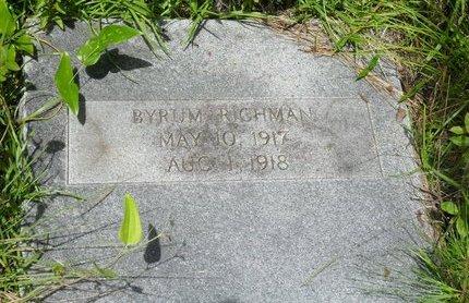RICHMAN, BYRUM - Caldwell County, Louisiana | BYRUM RICHMAN - Louisiana Gravestone Photos