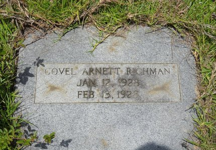 RICHMAN, COVEL ARNETT - Caldwell County, Louisiana | COVEL ARNETT RICHMAN - Louisiana Gravestone Photos