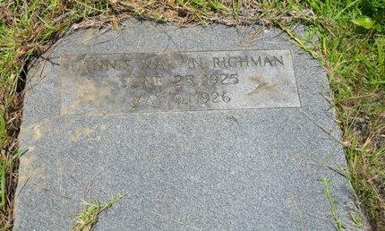 RICHMAN, DENNIS MARVIN - Caldwell County, Louisiana | DENNIS MARVIN RICHMAN - Louisiana Gravestone Photos