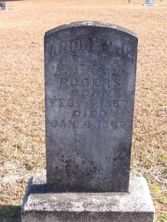 ROGERS, ANDREW JACKSON - Caldwell County, Louisiana | ANDREW JACKSON ROGERS - Louisiana Gravestone Photos