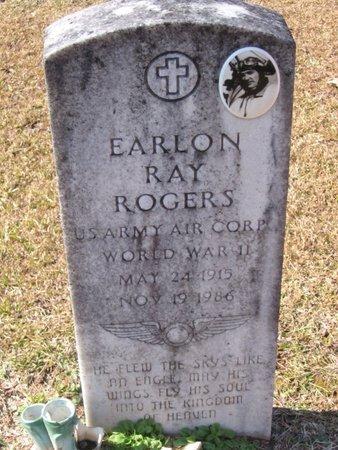 ROGERS, EARLON RAY  (VETERAN WWII) - Caldwell County, Louisiana   EARLON RAY  (VETERAN WWII) ROGERS - Louisiana Gravestone Photos