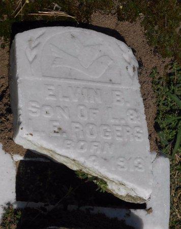 ROGERS, ELVIN B - Caldwell County, Louisiana | ELVIN B ROGERS - Louisiana Gravestone Photos