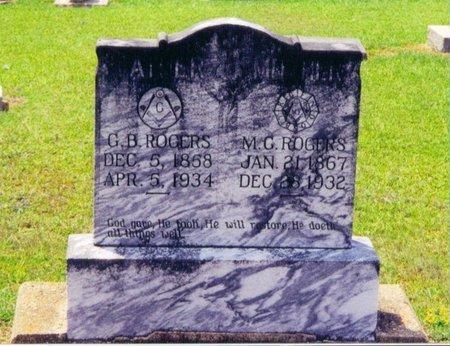 ROGERS, GEORGE BENJAMIN JR. - Caldwell County, Louisiana | GEORGE BENJAMIN JR. ROGERS - Louisiana Gravestone Photos