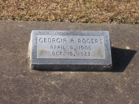 ROGERS, GEORGIA ALMA - Caldwell County, Louisiana | GEORGIA ALMA ROGERS - Louisiana Gravestone Photos