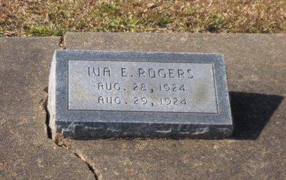 ROGERS, IVA ESTELLE - Caldwell County, Louisiana   IVA ESTELLE ROGERS - Louisiana Gravestone Photos