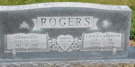 ROGERS, LAWRENCE - Caldwell County, Louisiana | LAWRENCE ROGERS - Louisiana Gravestone Photos