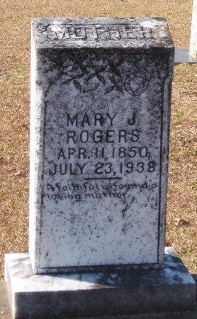 ROGERS, MARY JANE - Caldwell County, Louisiana | MARY JANE ROGERS - Louisiana Gravestone Photos
