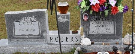 ROGERS, VIRGINIA ANN - Caldwell County, Louisiana | VIRGINIA ANN ROGERS - Louisiana Gravestone Photos