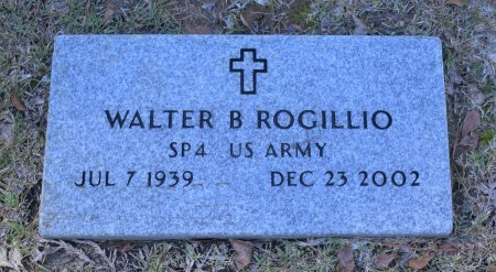ROGILLIO, WALTER BERRY (VETERAN) - Caldwell County, Louisiana | WALTER BERRY (VETERAN) ROGILLIO - Louisiana Gravestone Photos