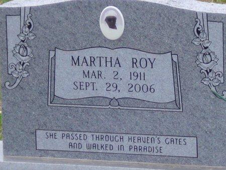 ROY, MARTHA - Caldwell County, Louisiana | MARTHA ROY - Louisiana Gravestone Photos