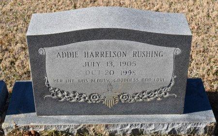 RUSHING, ADDIE HARRELSON - Caldwell County, Louisiana   ADDIE HARRELSON RUSHING - Louisiana Gravestone Photos