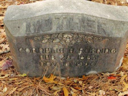 POERIERA RUSHING, CORNELIA A - Caldwell County, Louisiana | CORNELIA A POERIERA RUSHING - Louisiana Gravestone Photos