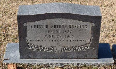 RUSHING, CHESTER ARTHUR - Caldwell County, Louisiana | CHESTER ARTHUR RUSHING - Louisiana Gravestone Photos