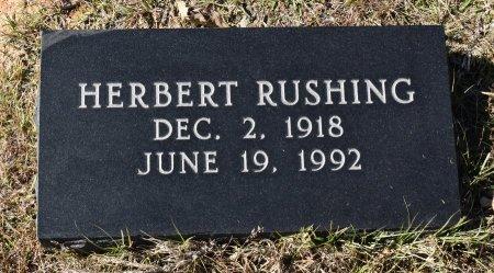 RUSHING, HERBERT - Caldwell County, Louisiana | HERBERT RUSHING - Louisiana Gravestone Photos