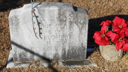 RUSHING, MINNIE OLA - Caldwell County, Louisiana | MINNIE OLA RUSHING - Louisiana Gravestone Photos