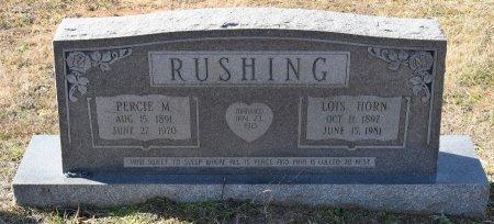 RUSHING, LOIS - Caldwell County, Louisiana | LOIS RUSHING - Louisiana Gravestone Photos