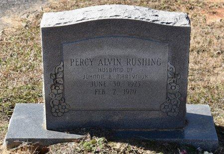 RUSHING, PERCY ALVIN - Caldwell County, Louisiana   PERCY ALVIN RUSHING - Louisiana Gravestone Photos