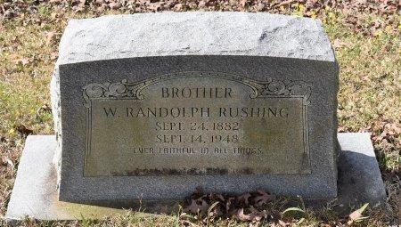 RUSHING, W RANDOLPH - Caldwell County, Louisiana   W RANDOLPH RUSHING - Louisiana Gravestone Photos