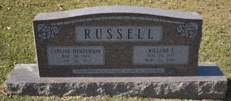 RUSSELL, WILLARD E - Caldwell County, Louisiana | WILLARD E RUSSELL - Louisiana Gravestone Photos