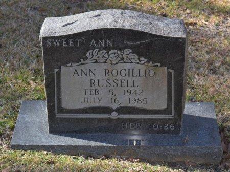 RUSSELL, ANN - Caldwell County, Louisiana | ANN RUSSELL - Louisiana Gravestone Photos