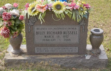 RUSSELL, BILLY RICHARD - Caldwell County, Louisiana | BILLY RICHARD RUSSELL - Louisiana Gravestone Photos