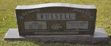 RUSSELL, HEBERT EZRA - Caldwell County, Louisiana   HEBERT EZRA RUSSELL - Louisiana Gravestone Photos