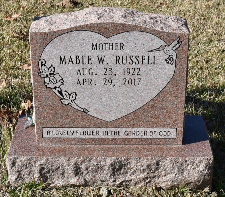 RUSSELL, MABLE - Caldwell County, Louisiana   MABLE RUSSELL - Louisiana Gravestone Photos