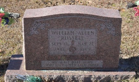 RUSSELL, WILLIAM ALLEN - Caldwell County, Louisiana | WILLIAM ALLEN RUSSELL - Louisiana Gravestone Photos