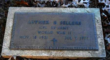 SELLERS  , LUTHER B (VETERAN WWII) - Caldwell County, Louisiana | LUTHER B (VETERAN WWII) SELLERS   - Louisiana Gravestone Photos