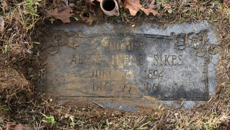 SIKES, ALICE IRENE - Caldwell County, Louisiana | ALICE IRENE SIKES - Louisiana Gravestone Photos