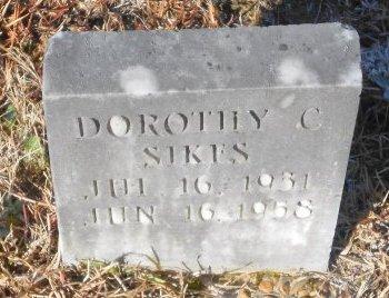 CRUSE SIKES, DOROTHY - Caldwell County, Louisiana | DOROTHY CRUSE SIKES - Louisiana Gravestone Photos