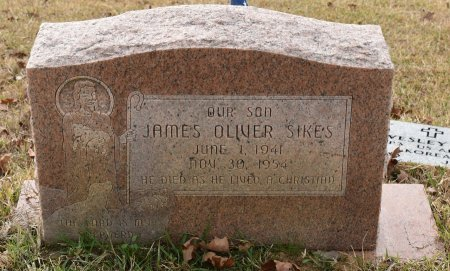 SIKES, JAMES OLIVER - Caldwell County, Louisiana | JAMES OLIVER SIKES - Louisiana Gravestone Photos