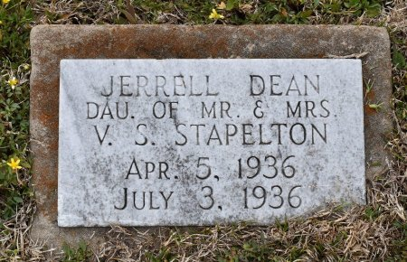 STAPLETON, JERRELL DEAN - Caldwell County, Louisiana   JERRELL DEAN STAPLETON - Louisiana Gravestone Photos