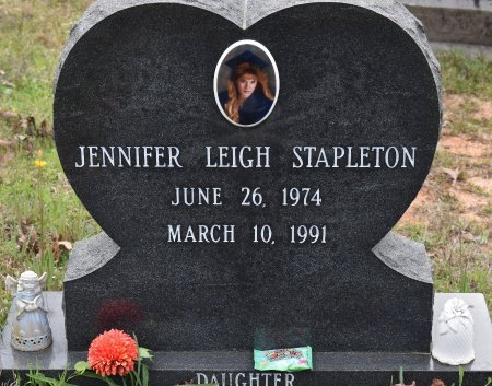 STAPLETON, JENNIFER LEIGH (CLOSE UP) - Caldwell County, Louisiana | JENNIFER LEIGH (CLOSE UP) STAPLETON - Louisiana Gravestone Photos
