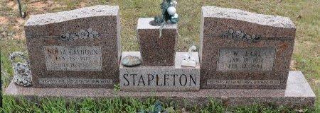 STAPLETON, WILLIE EARL - Caldwell County, Louisiana | WILLIE EARL STAPLETON - Louisiana Gravestone Photos