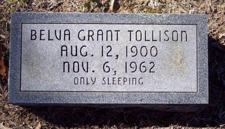 GRANT TOLLISON, BELVA - Caldwell County, Louisiana | BELVA GRANT TOLLISON - Louisiana Gravestone Photos