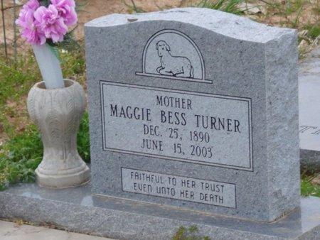 TURNERE, MAGGIE BESS - Caldwell County, Louisiana | MAGGIE BESS TURNERE - Louisiana Gravestone Photos