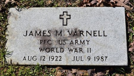 VARNELL, JAMES M (VETERAN WWII) - Caldwell County, Louisiana | JAMES M (VETERAN WWII) VARNELL - Louisiana Gravestone Photos