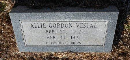 VESTAL, ALLIE GORDON - Caldwell County, Louisiana   ALLIE GORDON VESTAL - Louisiana Gravestone Photos