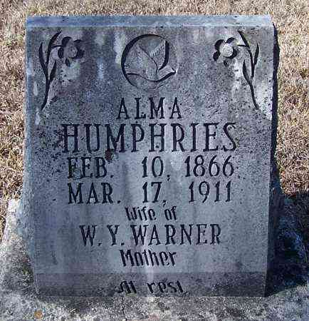 WARNER, ALMA - Caldwell County, Louisiana | ALMA WARNER - Louisiana Gravestone Photos