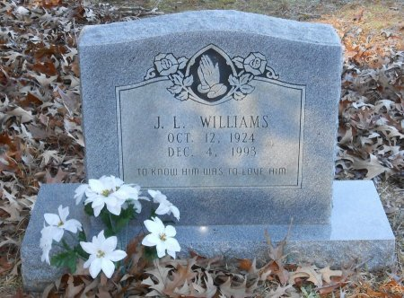 WILLIAMS, J L - Caldwell County, Louisiana | J L WILLIAMS - Louisiana Gravestone Photos