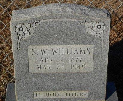 WILLIAMS, S W - Caldwell County, Louisiana | S W WILLIAMS - Louisiana Gravestone Photos